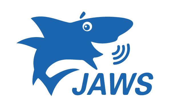 logo of JAWS screen reader