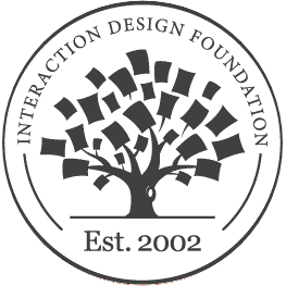 Interaction Design Foundation icon.