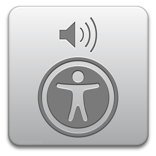 logo of Voice Over screen reader
